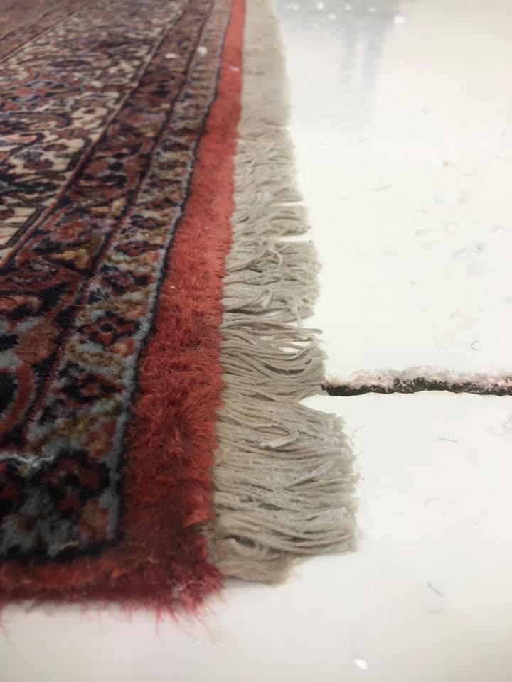 Cleaned Oriental Rug